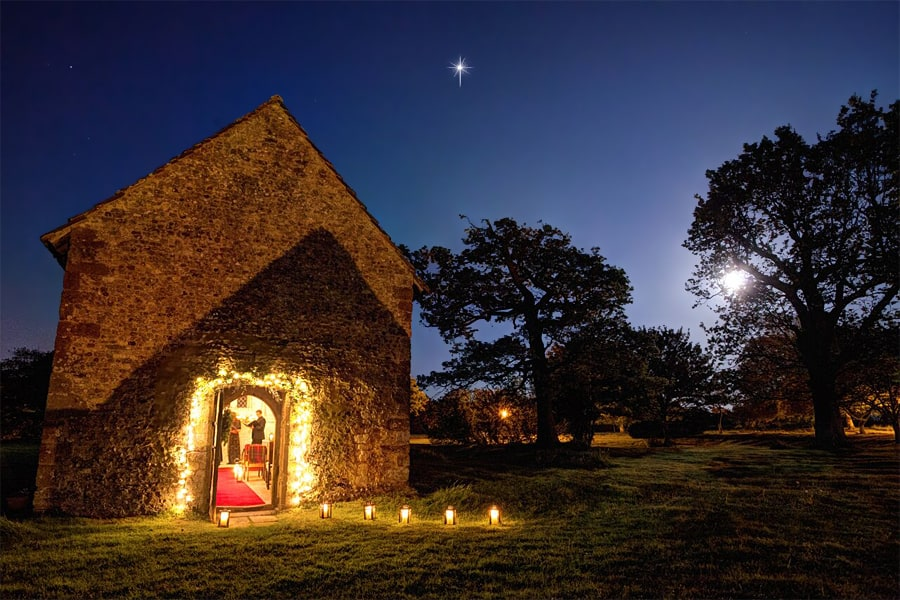 Carols by Candlelight, Bailiffscourt, Climping, West Sussex