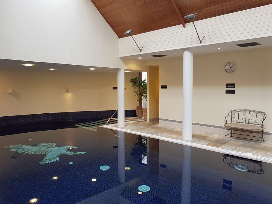 The spa at The Spread Eagle, Midhurst, West Sussex, England