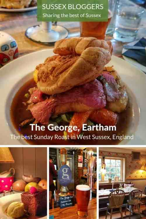 The George Eartham and possibly the best Sunday Roast in West Sussex #England #SundayRoast #Eartham #WestSussex