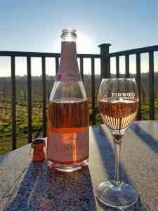 Brut Rosé, Tinwood Estate, Halnaker, West Sussex