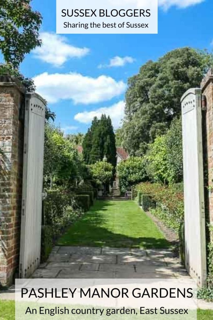 Gateway at Pashley Manor Gardens in East Sussex