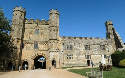 Walking through history at Battle Abbey in East Sussex
