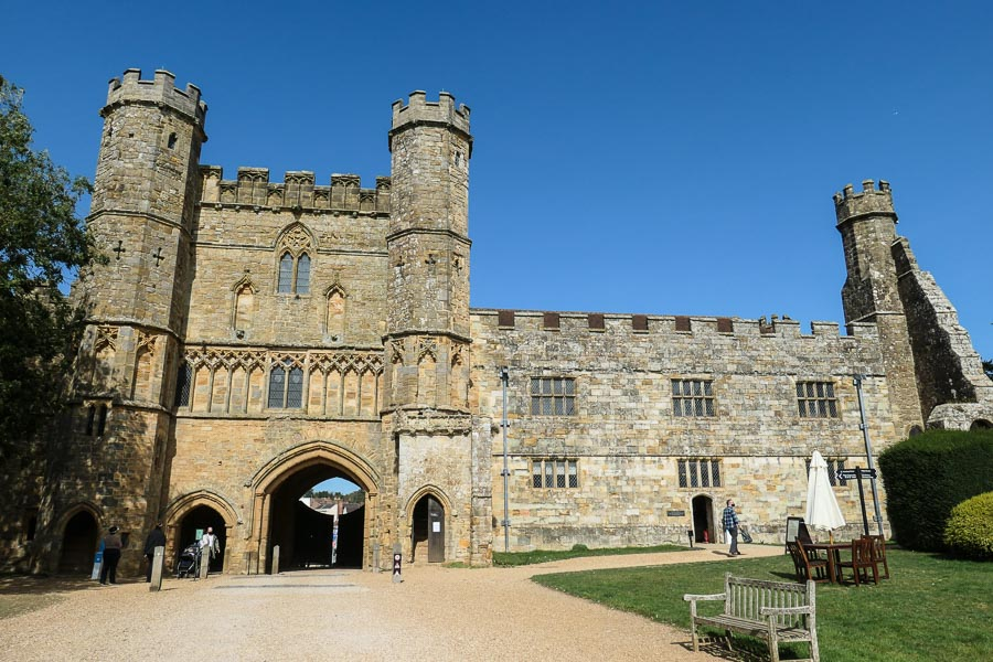 Battle Abbey gatehouse, East Sussex