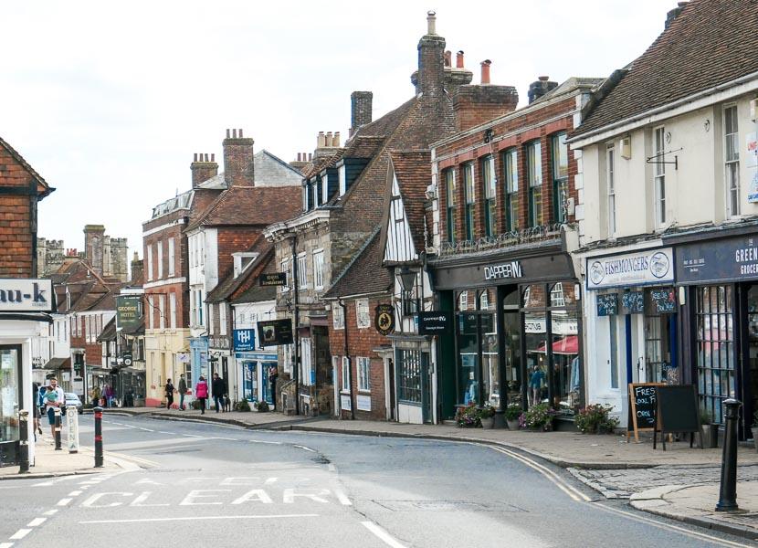 Battle High Street, East Sussex