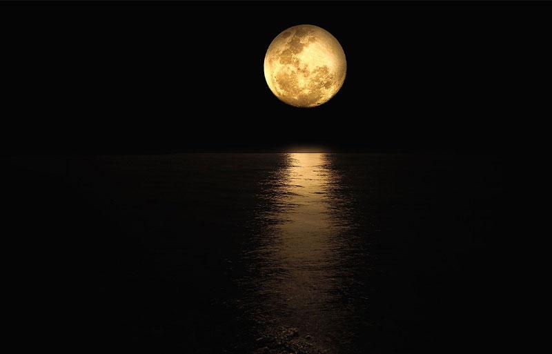 Sussex full moon