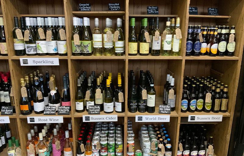 Weston farm shop Sussex