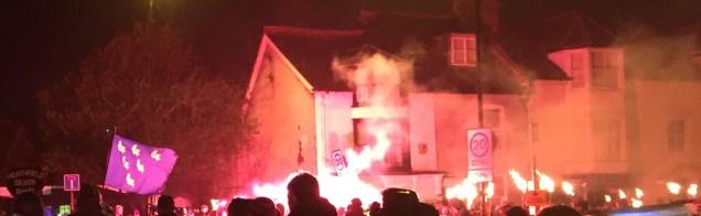 Lewes Bonfire 2015