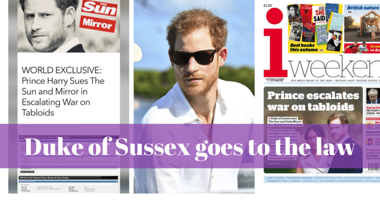 The Sussexes against the gutter press