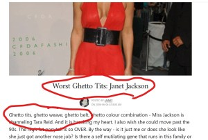 Lainey Lui abuse of Janet Jackson