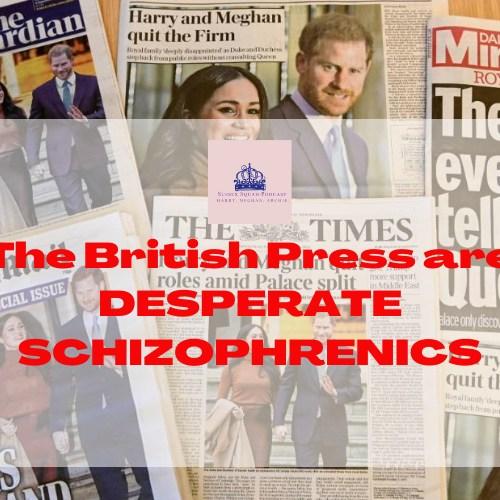 British Press DESPERATE SCHIZOPHRENICS