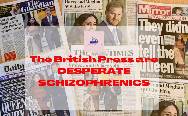 British Press DESPERATE SCHIZOPHRENICS