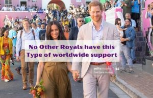 No Royals Have Harry and Meghan Worldwide Support