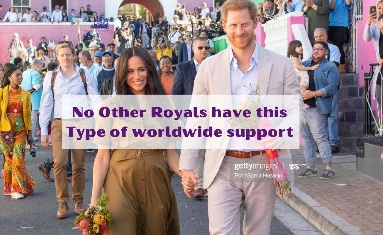 Harry and Meghan's Worldwide Support