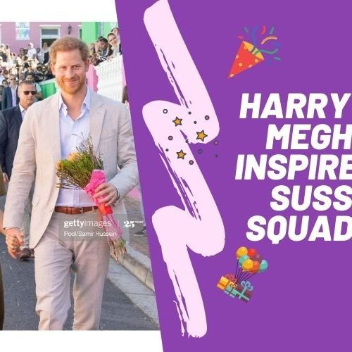 Harry and Meghan inspired by Sussex Squad 088