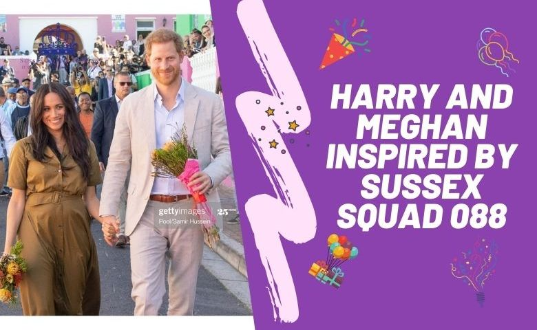 Harry and Meghan inspired by Sussex Squad