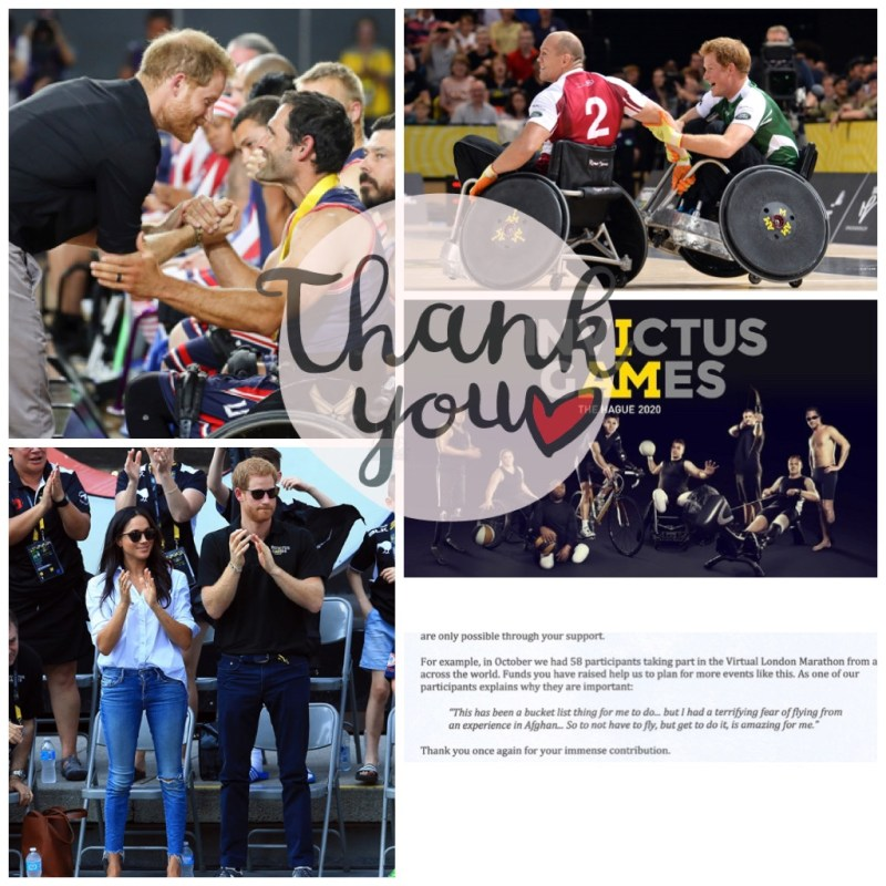 Thank you Invictus games