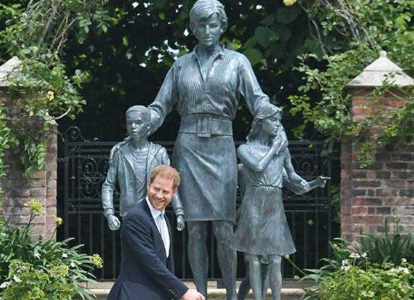 Harry Honours Diana