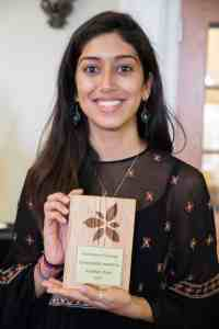 Alyshah was recognized for her Sustainability Leadership at the annual Champions of Change awards ceremony.