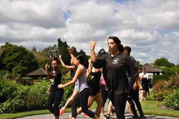 Associate Professor of Dance, Christina Soriano, modified her Dance Composition class to incorporate sustainability. In this class, Soriano challenged her students to choreograph a piece based on nature, specifically something growing in Reynolda Gardens. .