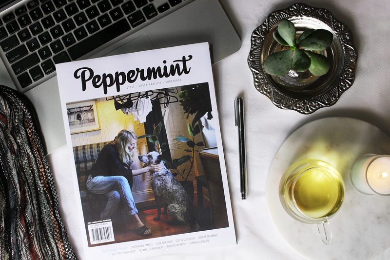 Peppermint Magazine Feature