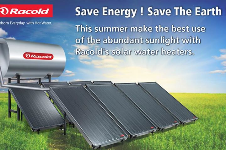 Usage of solar water heaters is win-win for all the