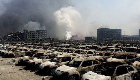 2015 Tianjin Fire Disaster in China