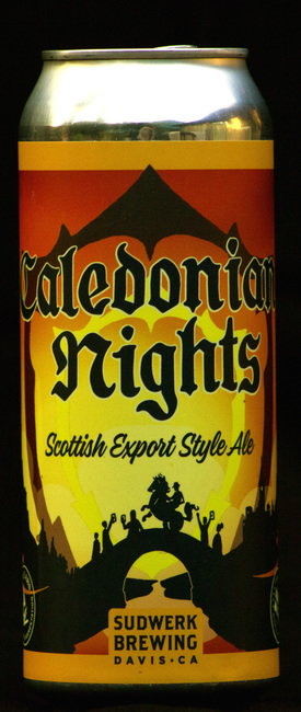 can of beer titled Caledonian Nights