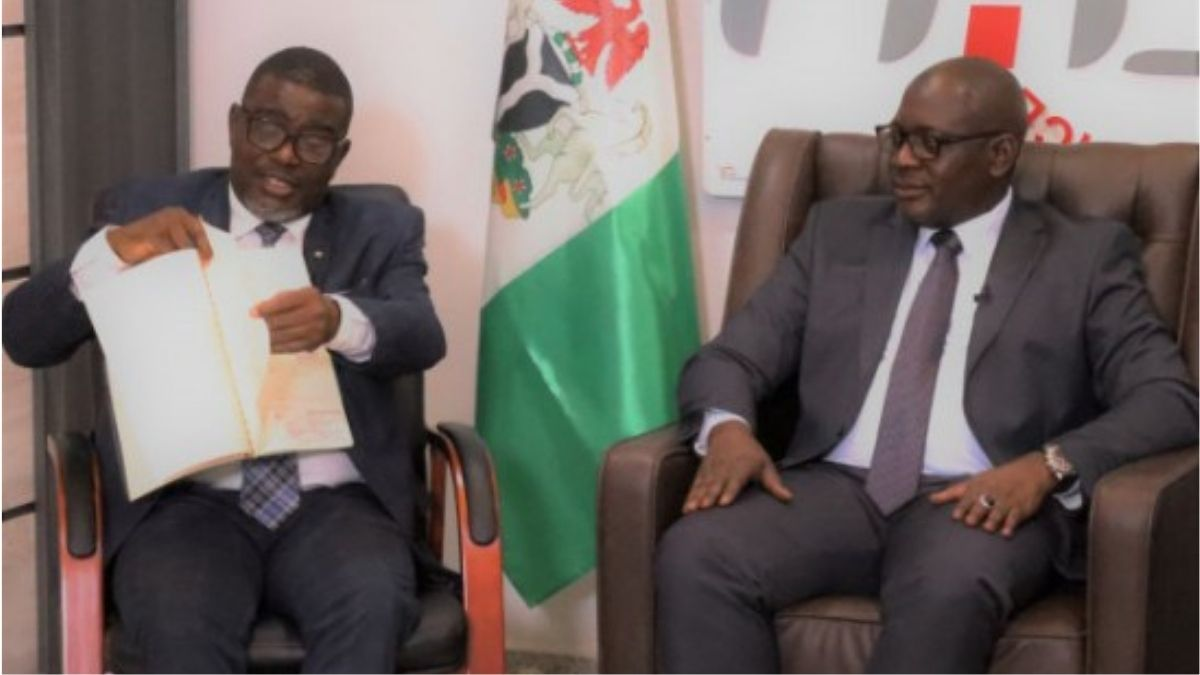 FIRS Chairman discussing on tax matter and Nigeria Tax revenue