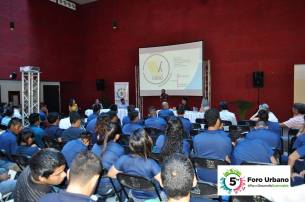 A short conference attended by students from ITES Los Cabos, the Technological Institute