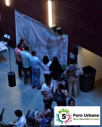 An Interactive Map activity that was a part of the IMPLAN Stand.