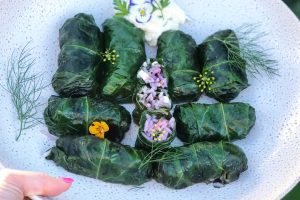 Beetroot Leaf Dolmades