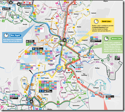 Map - ACTION weekday 2013 - part