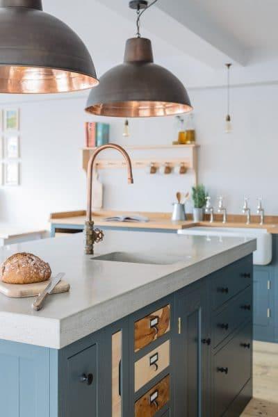 Industrial Shaker Showroom Sustainable Kitchens