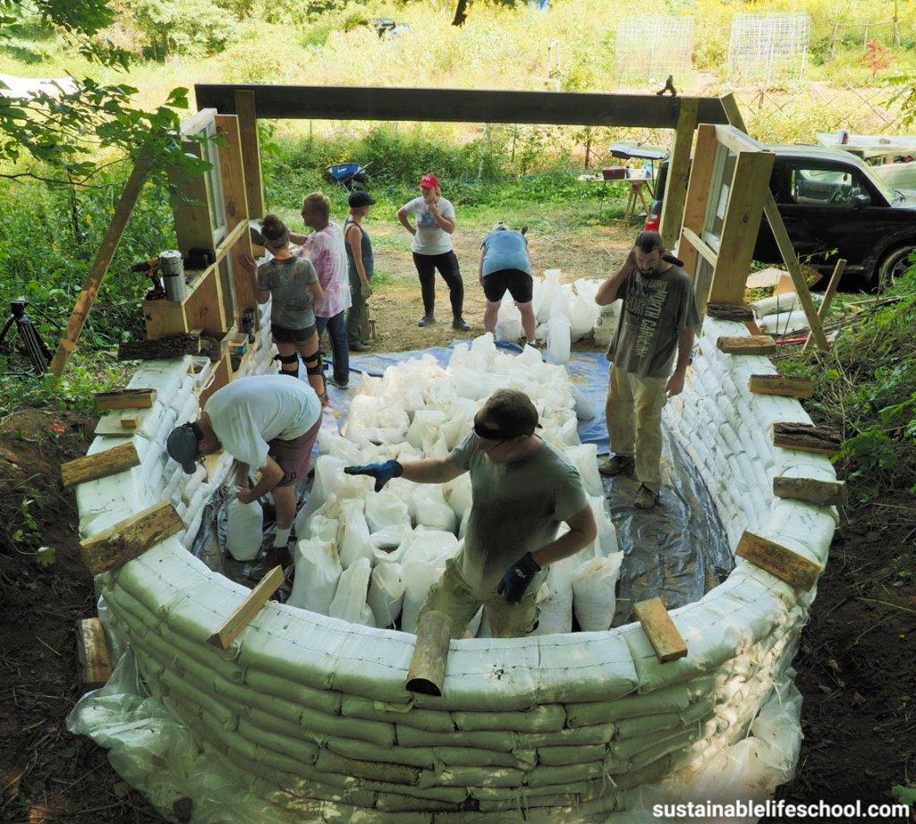 earthbag workshop