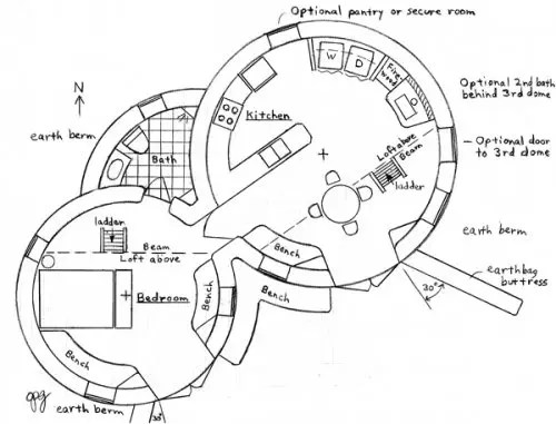 Enviro Dome Floorplan