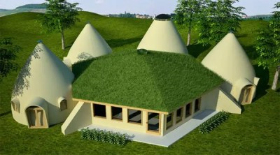Lodge With Domes