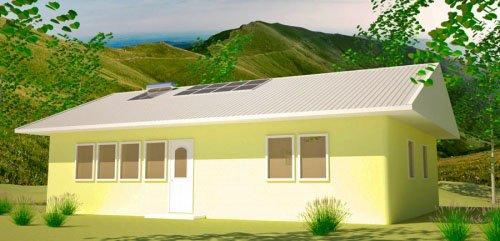 Solar Ranch House