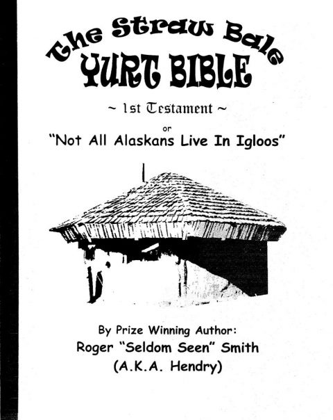 strawbale yurt bible