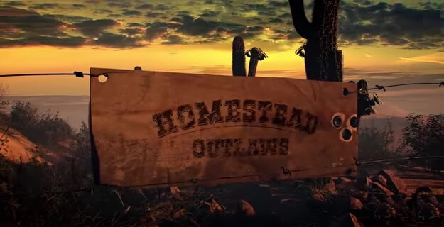 Homesteading outlaw video