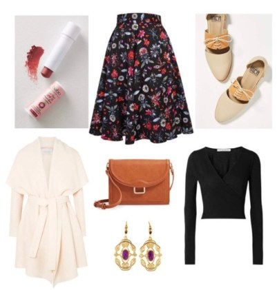 5 Outfits for Fall Floral Inspiration