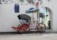 Malaysia, Penang trishaw