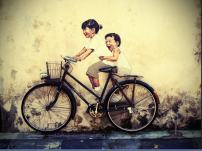 malaysia penang cycle pic