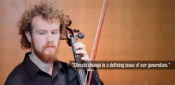 Daniel Crawford; photo clip from A Song of Our Warming Planet