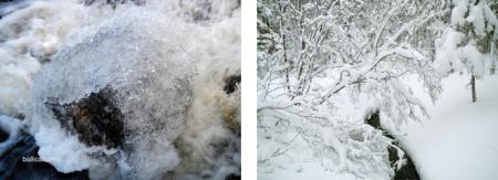 Ballicattered and Devil's Blanket, Blast Hole Pond River, Newfoundland, Winter 2012-2013