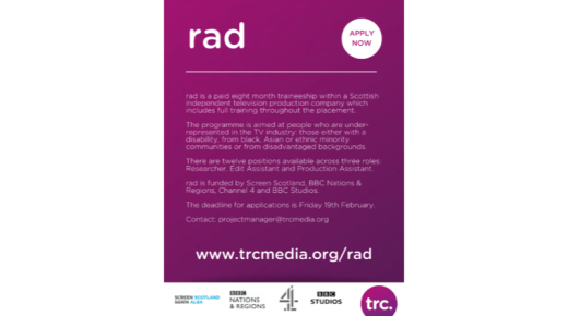 Opportunity: rad2021 traineeship applications