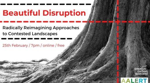 Green Tease Reflections: Beautiful Disruption