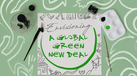 Envisioning a Green New Deal on Stage