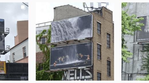 I AM WATER Billboard Exhibition – locations