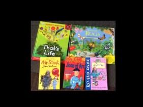 Children's book swap Harpenden Oxfam