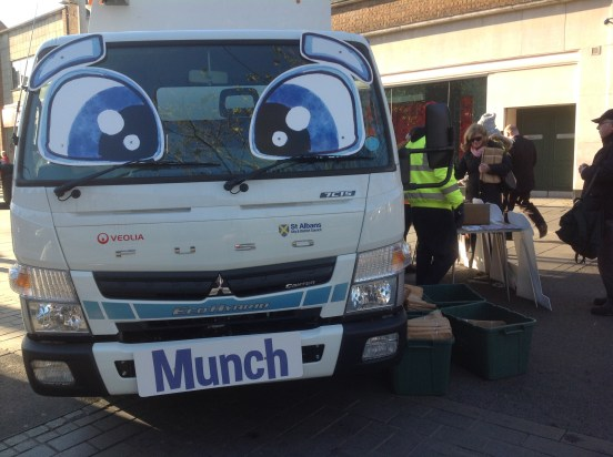 Munch, the Recycling Lorry from Veoila